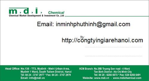 Công ty chuyên ịn phong bì giá rẻ tại Hà Nội